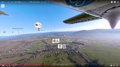 Stredné Slovensko vo virtuálnej realite
