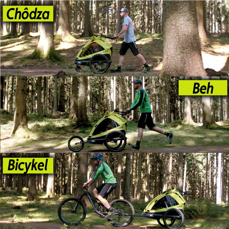 šport s cyklovozíkom